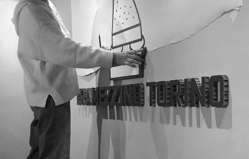 Insegna Tramezzino Torino