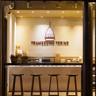 Tramezzino Torino bancone